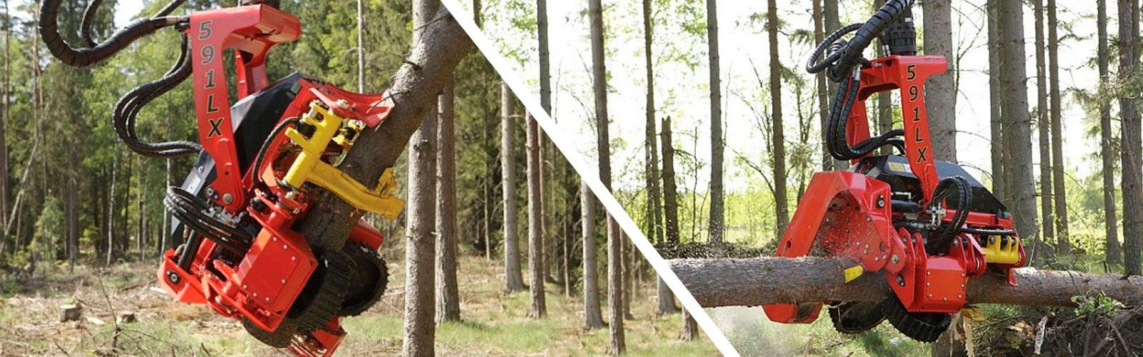 Taller de maquinaria forestal Rottne en Cantabria
