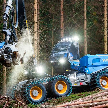 Maquinaria Forestal Harvester H21 D
