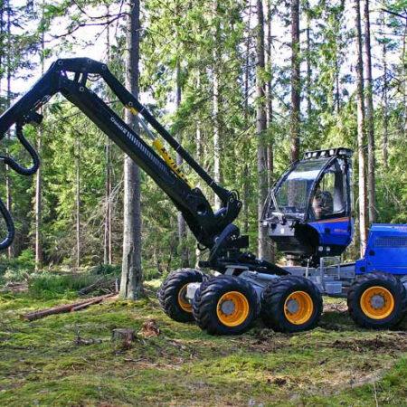 Maquinaria Forestal Harvester H11 8WD