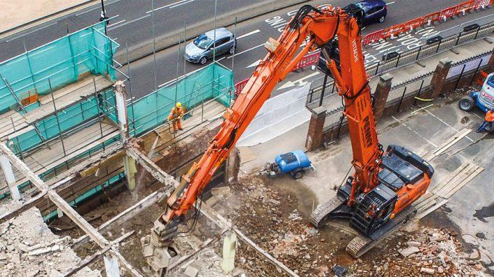 Reparación de vehículos obra pública