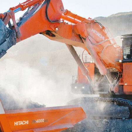 Maquinaria Obra Pública Hitachi Grande