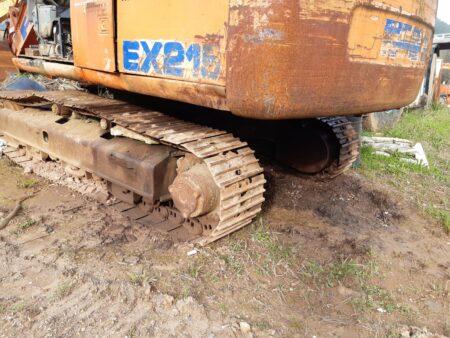 FIAT Hitachi EX215 excavadora para piezas